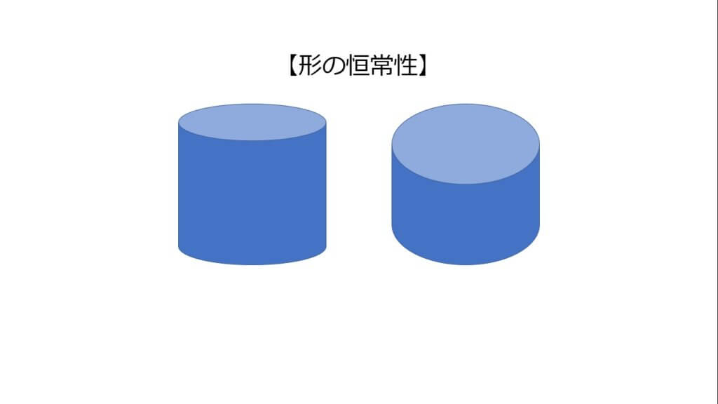 形の恒常性