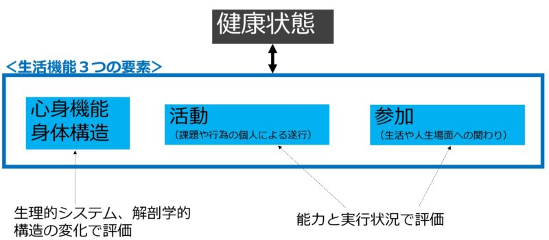 ICFの生活機能3要素